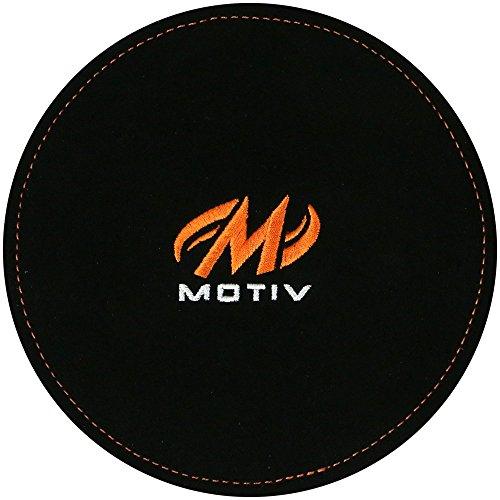 Motiv Bowling Shammy Disk - Ball Reinigung Pad (Schwarz)