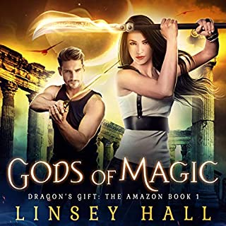 Gods of Magic (Dragon's Gift: The Amazon)                   By:                                                                                                                                 Linsey Hall                               Narrated by:                                                                                                                                 Laurel Schroeder                      Length: 5 hrs and 50 mins     2 ratings     Overall 3.5