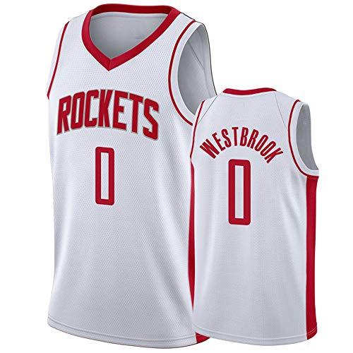 FILWS Basketball Jersey Russell Westbrook Herren Sport Stick Jersey Regular Season Basketball Uniformen Unisex Schnelltrocknende Stoffe Fan Sportswear