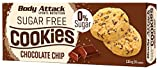 Body Attack Low Sugar Cookies 115g - Chocolate Chip - Diätkekse - Low Carb