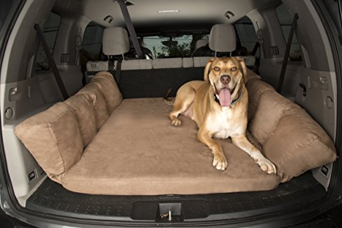Big Barker Backseat Barker: SUV Edition (Orthopedic Shock-Absorbing Dog Bed for Back of Sport Utility Vehicles)