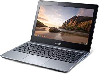 Renewed Chromebook C720 Intel Celeron 2955U 1.4GHz 2GB RAM 16GB SSD chrome os laptop (Renewed)