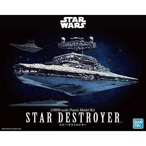 BANDAI Star Wars Star Destroyer 1/5000 Scale Plastic Model Maqueta