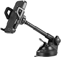 for Nokia 2 V, Nokia 5.1 Plus, Nokia 6.1, Nokia 6.1 Plus, Nokia 7, Nokia 7 Plus, Nokia 7.1, Nokia 8.1, Nokia 3.1 Plus, Nokia 3.1 Dashboard/Windshield Hands-Free Car Mount Phone Holder w/Extended Arm