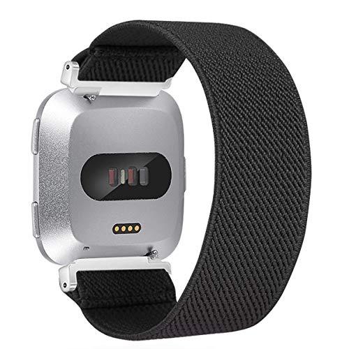 Vozehui - Cinturino per Fitbit Versa/Versa Lite/Versa 2, elastico regolabile con elastico elastico elastico elastico per Fitbit Versa
