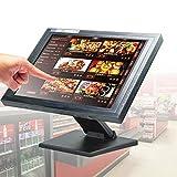 Tactile 15 pouces pour Vente au détail Caisse enregistreuse, écran tactile POS, écran LCD tactile pour gastronomie et commerce