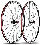 ZLYY RT Laufradsatz C200 / C180 700C Ultraleichter Doppelschicht-Aluminiumlegierungs-Material 120-Ring-Laufradsatz Palin-Laufradsatz
