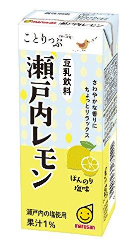 マルサンアイ ことりっぷ 豆乳飲料 瀬戸内レモン 200ml×24本