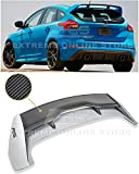 Extreme Online Store for 2013-Present Ford Focus Hatchback Models | EOS RS Style Rear Roof Wing Spoiler (Carbon Fiber)