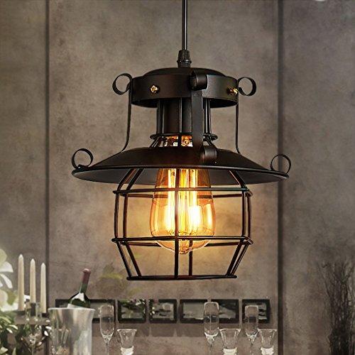 Modeen Loft Retro Industrie Kreative Eisen Explosionsgeschützte Einzigen Kopf Kronleuchter Bar Restaurant Lampe American Cafe Esszimmer Decke Pendelleuchten Verstellbare Innenbeleuchtung Leuchten