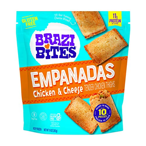 Brazi Bites, Empanadas Chicken Cheese, 10 Ounce