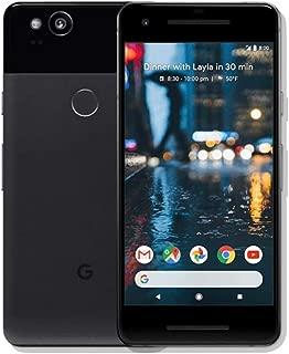 Google Pixel 2 64GB 5in 12MP SIM-Free Smartphone in Just Black (Renewed)