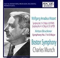 Mozart: Symphony No. 31, Symphony No. 41 / Bruckner: Symphony No. 7 by VARIOUS ARTISTS