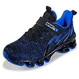 Zapatillas deportivas ligeras y transpirables para niños, color Azul, talla 39 1/3 EU