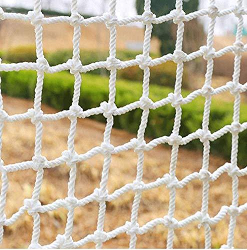 Seguridad for Niños Net, Valla Barandilla Decoración Protección neto Valla de cuerda de escalada tejida de carga de camiones de remolque Red acoplamiento de la red Nets, robusto material de la tela de