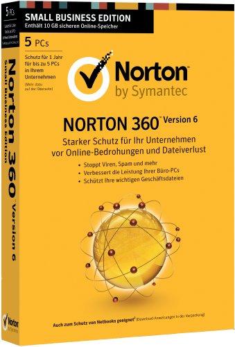 Norton 360 6.0 - 5 User [import allemand]