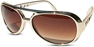 The King of Rock and Roll Elvis Presley Large Las Vegas Costume Sunglasses