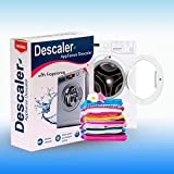 EKAYAN Descaler Powder for All Washing Machines Front Load/Top Load, Sanitize Your Washing Machine Inside, Dishwashers Stain Remover (Pack of 3 x 100 GMS)