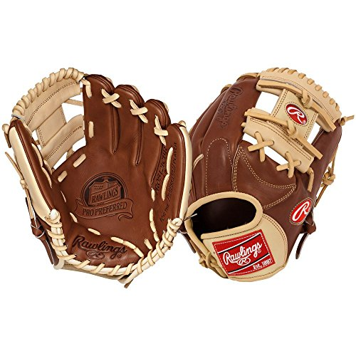 Rawlings Pro Prefererred 11.25-inch Infield Baseball Glove, Right-Hand Throw (PROS12ICBR)