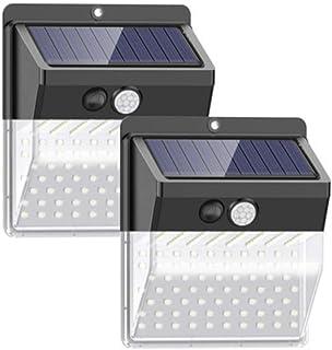 200 LED-solcellslampor utomhus, solenergisensor säkerhetslampor med 270 ° vidvinkel, 3 intelligent belysningsläge, lätt at...