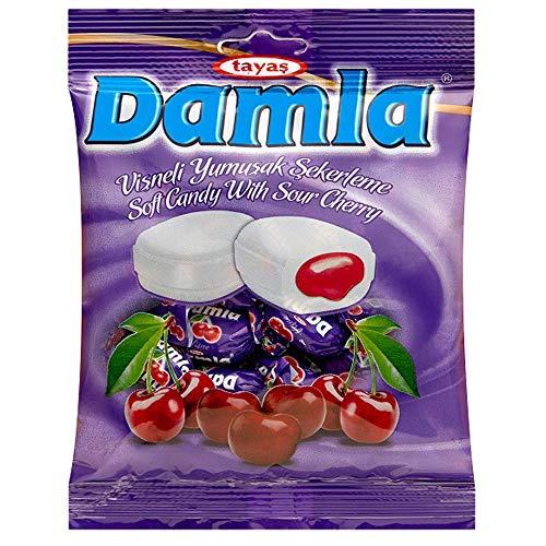 ダムラ チェリーソフトキャンディ 90g(約19粒入)×4袋