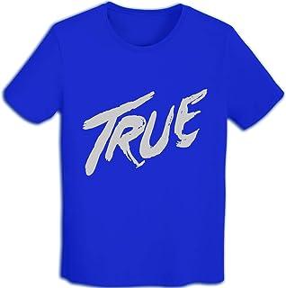 メンズ スポーツ 半袖 Tシャツ 速乾性 通気性 アヴィーチー Avicii True コットン クルーネック 薄手 ファッションTシャツ インナーシャツ プリント Tシャツ カップル着用 T-shirt S-2XL