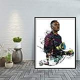wopiaol Kein Rahmen Steve Mandanda Modern Art Print Home