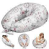Coussin d'allaitement et de Grossesse - Oreiller Femme Enceinte Coussin pour Dormir de maternité Allaitement XXL Capteur de Rêves