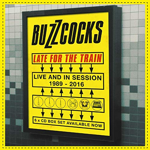 Late For The Train. Live And In Session 1989-2016: 6Cd Boxset