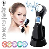 SWIZZEN Face Lifting Device 6 in 1 EMS Facial Massager R-F Skin Tightening Facial Machine for Anti Aging and Face Cleansing