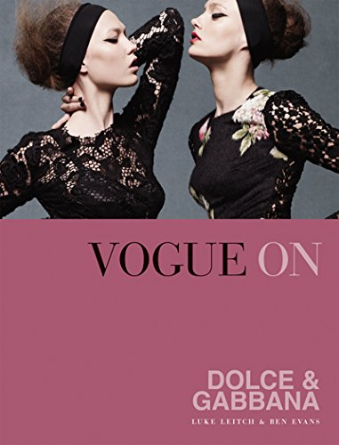 Vogue on: Dolce & Gabbana (Vogue on Designers) (English Edition ...