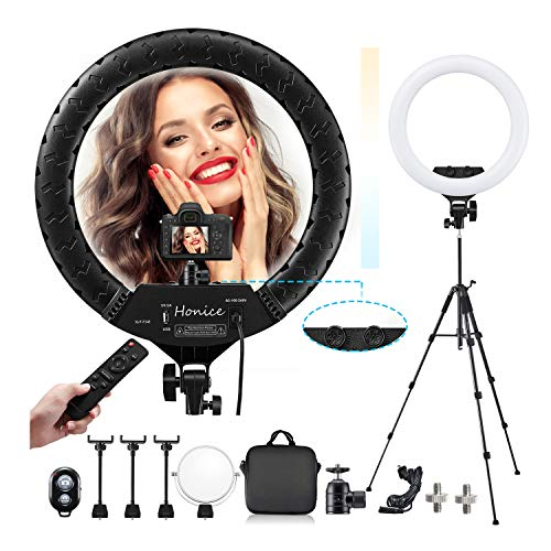 70% off 18 Inch Ring Light Clip the Extra 20% off Coupon and Use Promo Code: 50DHMFVM Works only on 18-Inch option  2