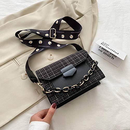 Pequeño bolso de la nueva tendencia coreana versión de la bolsa salvaje mensajero red de moda bolso rojo señoras