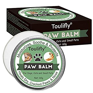 Paw Balm for Dogs, Paw Soother, Paw and Nose Balm Wax for Dogs and Cats, Heals, Soothes, and Protects Cracked and Dry Paws and Noses 1