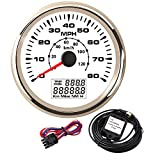 Boat GPS Speedometer Odometer 0-80MPH 0-120KM/H Digital GPS Speed Gauge for Motocycle ATV