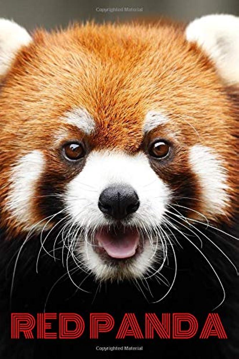 マーガレットミッチェル中央キッチンRed Panda: Notebook with Animals for Kids and Adults, for Drawing Coloring and Writing (Colorful & Cartoon Cover, Blank, 110 Pages, 6 x 9) (Animal Journals)