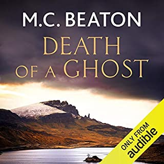 Hamish Macbeth: Death of a Ghost cover art