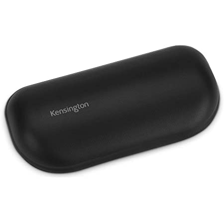 Kensington ErgoSoft Wrist Rest for Standard Mouse, Black (K52802WW)