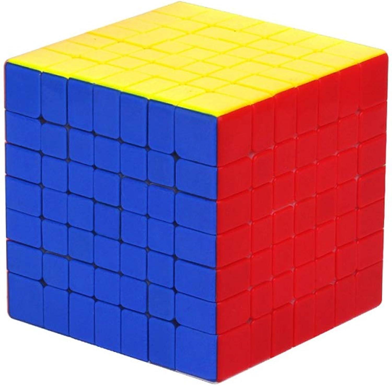Xiaochao Cube De Vitesse, Magic Cube 7X7x7 - Facilité De rougeation Et De Jeu - Solide Solide Et Dépourvu D'Autocollant - Dépourvu D'Original