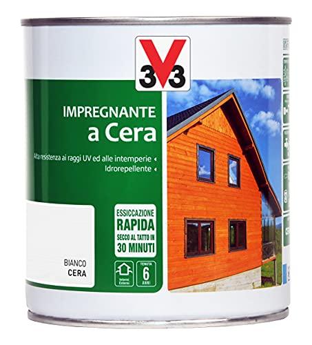 V33 Barniz de cera blanca 750 ml