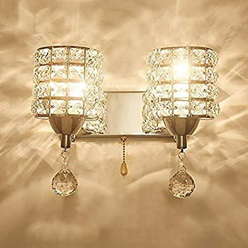 Star Form Wandlamp, LED, slaapkamer, modern, nachtkastje, kristal, wandlamp, slaapkamer, woonkamer, spiegel en hal