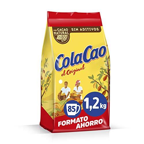 ColaCao 34223 Original: con Cacao Natural y sin Aditivos, 1200 g