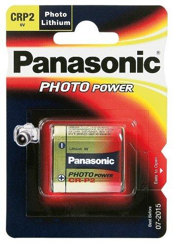 Panasonic - CR-p2, 6v, 1400mah li-ION, Photo, cr-p2l_1bp (li-ION, Photo)