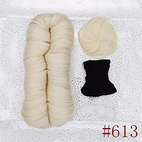 Cheap blonde human hair weave _image1