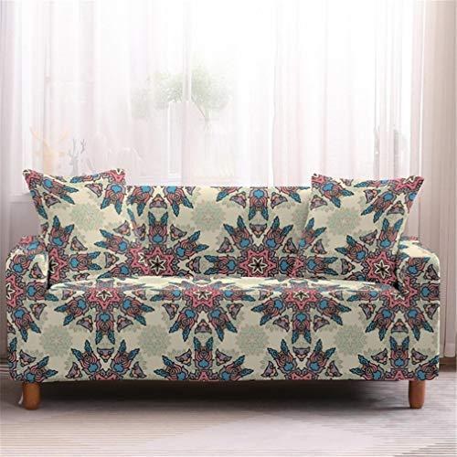 wjwzl Sofabezug für Chaiselongue, elastisch, rutschfest, für Wohnzimmer, Schlafzimmer, Sofabezug S, 15N, (2 Sitze)+(4 Sitze)