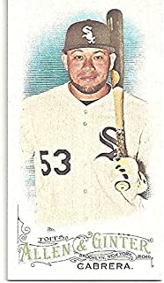 Melky Cabrera Mini Allen & Ginter Back Short Print Baseball Card - 2016 Topps Allen and Ginter Baseball Card #67 (Chicago White Sox) Free Shipping