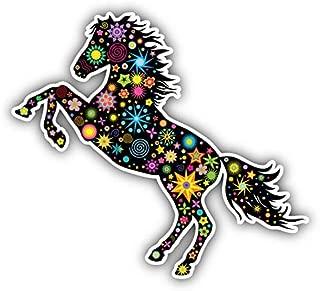 KW Vinyl Magnet Ornate Horse Truck Car Magnet Bumper Sticker Magnetic 5
