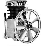 VEVOR Industriale Testa del Compressore d'Aria Motore della Pompa 3HP 160PSI Pompa a Stadio Singolo 1300Rpm 1 Fase 11 Bar Pompa a Cilindro in Alluminio Costruzione della Testa