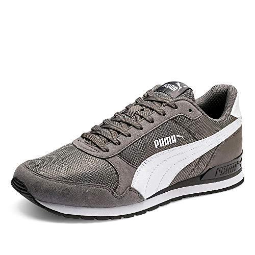 PUMA St Runner V2 Mesh, Sneaker Unisex – Adulto - Grigio (Charcoal Gray) - 44 EU