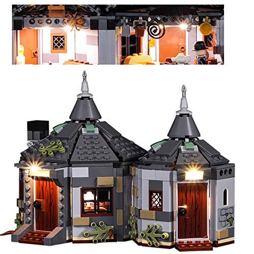 POXL Licht-Set Für Harry Potter Hagrid's Hut Buckbeak's Rescue - LED Licht Set Led Beleuchtung Kompatibel Mit Lego 75947 (Lego Modell Nicht Enthalten)
